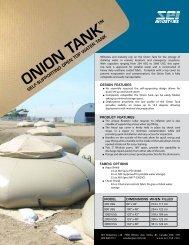Onion Tank Brochure - SEI Industries Ltd.