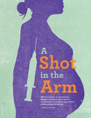 A Shot in the Arm - Anna Dubrovsky