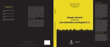 OCUB-Arte dramatico.indd - Secretaría de Cultura, Recreación y ...