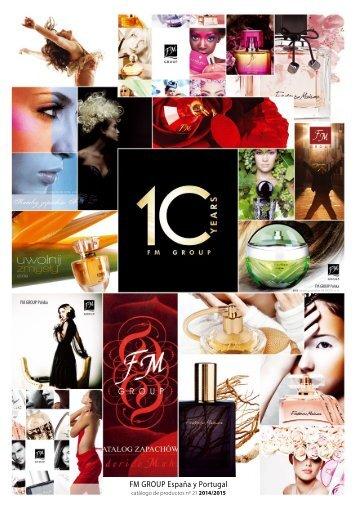 Catálogo de perfumes nº 21 - FM GROUP