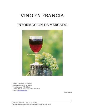 Estudio de mercado - Vino en Francia 2009.pdf - Wines Of Argentina