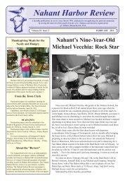 Nahant Harbor Review - Nahant, Massachusetts USA