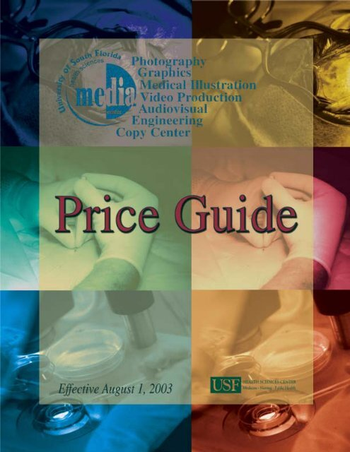 Price Guide 2003 for web - University of South Florida