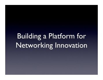 View PDF - Open Networking Summit