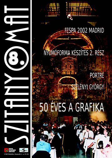 50 ÉVES A GRAFIKA - FESPA