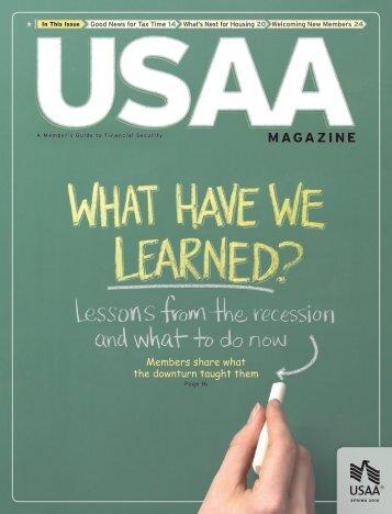 Spring 2010 USAA Magazine - USAA.com