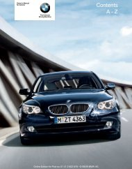Online Edition for Part no. 01 41 2 602 678 - © 08/09 BMW ... - 5Series