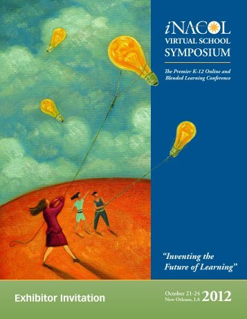 Exhibitor Prospectus - Virtual School Symposium 2012 - iNACOL