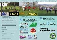 Samstag, 7. Oktober 2006 - Walkathlon.de