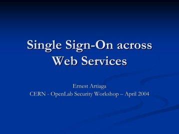 Using PKI/Certificates In Cross-Platform ... - CERN openlab