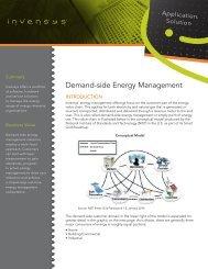 Demand-side Energy Management - Wonderware