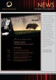 SFS Newsletter November 2010.pdf - Burgmann Anglican School ...