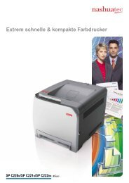 Extrem schnelle & kompakte Farbdrucker - KWS Weimar
