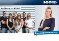 Industriekaufleute m/w - SCHMID Group