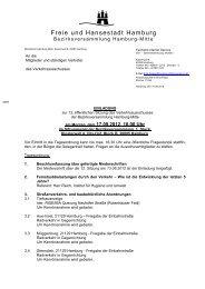Einladung 13. VerkA.pdf - Hamburg-Mitte-Dokumente