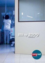 jaarVerSlag 2009 - Zorgnet Vlaanderen
