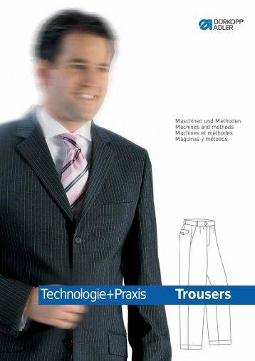 Technologie+Praxis Segment Mens' Trousers