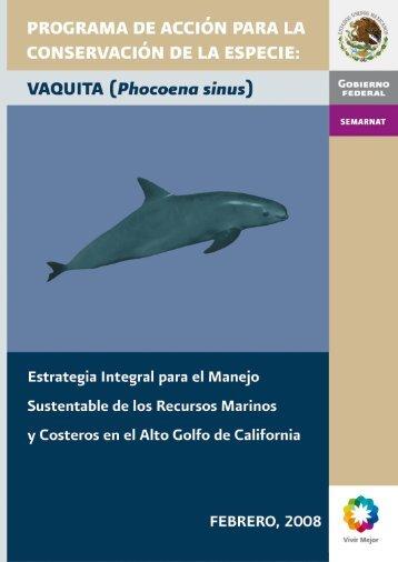 Programa de Acción para la Conservación de la Especie - Conanp