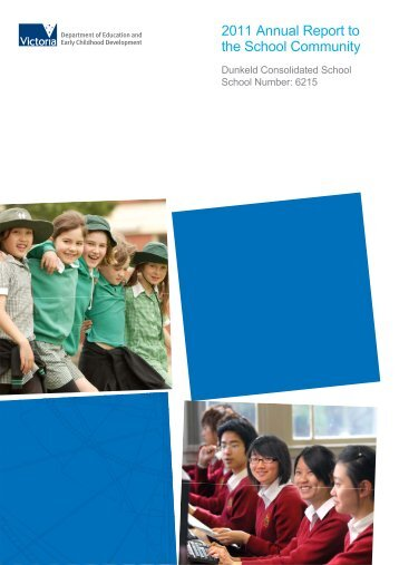 2011 Dunkeld Consolidated School Annual Report