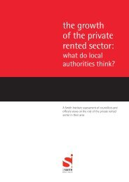 The growth of the PRS - what do local authorities think