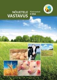 Nõuetele VASTAVUS - Eesti põllu- ja maamajanduse ...
