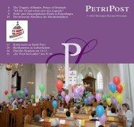 PETRIPOST - Sankt Petri Schule