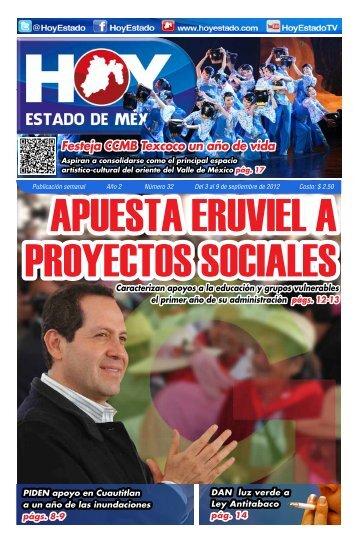 Festeja CCMB Texcoco un año de vida - HOY Estado de México