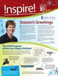 November/December 2010 - Winnipeg Regional Health Authority