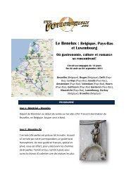Le Benelux : Belgique, Pays-Bas et Luxembourg - Voyages à rabais