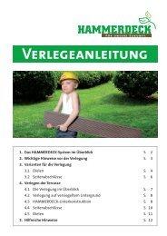 Verlegeanleitung - von hammerdeck.de