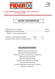 DATOS ESTADISTICOS - Feria de Zaragoza