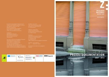 Projektdokumentation 2007-2012 - Stadt Wuppertal