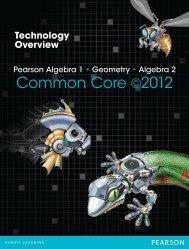 Common Core ©2012 - Pearson