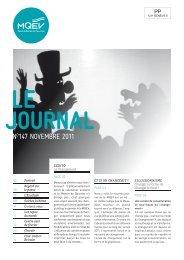N°147, thème: le changement (nov.2012 à fév.2013) - MQEV