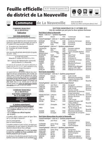 No 34 - 28 septembre - Imprimerie du Courrier, La Neuveville