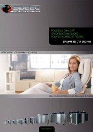 Téléchargez la plaquette produits SDEEC
