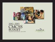 2012-2013 CMCSS Budget - Clarksville-Montgomery County Schools