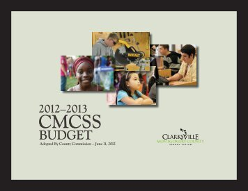 2012-2013 CMCSS Budget - Clarksville-Montgomery County Schools