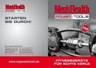 Aktueller Men's Health POWERTOOLS Katalog - Hammer Sport AG