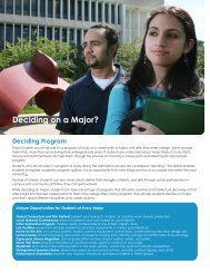 Deciding on a Major? - College of Arts and Sciences - Nova ...