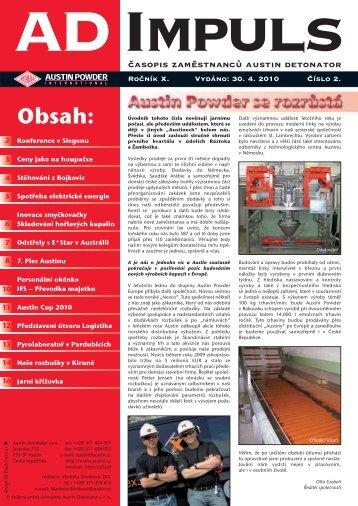 AD IMPULS 02/10 - Austin Detonator sro