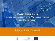 Introduction to OpenMP - Prace Training Portal