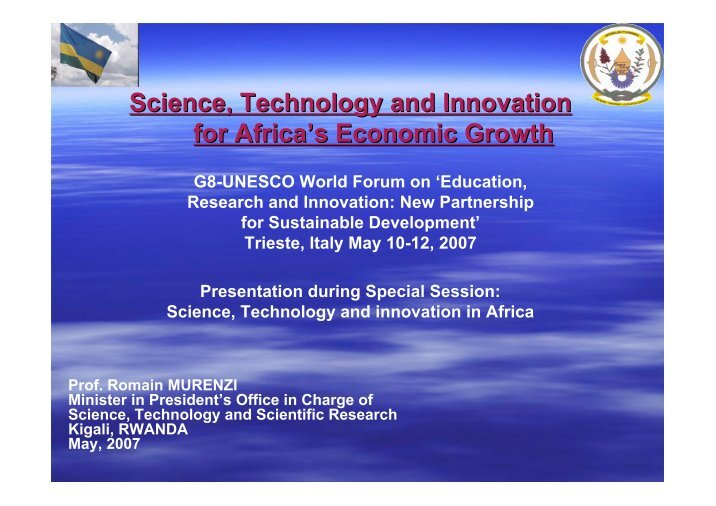 recent scientific and technological innovations essay Essays on technology and innovation view/ open technology as the core of innovation has undergone numerous evolutions my findings offer new insights to the.
