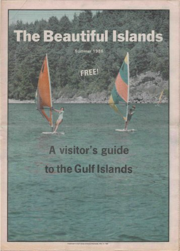 visitor s guide to the Gulf Islands - Salt Spring Island Archives