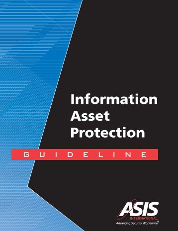 Information Asset Protection - Deb & Lamont Watson Consultant ...