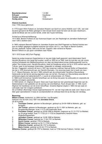 1.0.360 Goedkoop, nu kaaswinkel v.d. Vegt - De Hofmarken