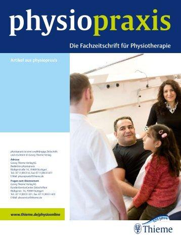 Physiopraxis - Gesundheit