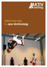 Aktiv kvar dag – opne idrettsanlegg - Hordaland fylkeskommune