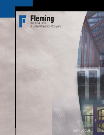 Fleming Product Catalogue - Steel Dor of Tucson