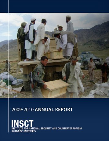 2009-2010 annual report - Institute for National Security and ...
